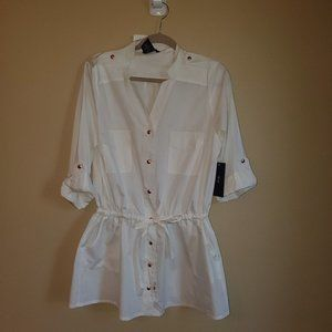 Tommy Hilfiger Swimsuit Cover up or Top Size Small